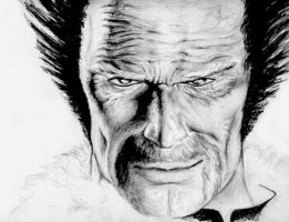 Heihachi sketch by deadhand