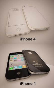 iPhone 4 by ALBITAR