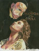 The Phantom of the Opera by MicahJo