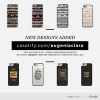PSA: eugeniaclara + Casetify by eugeniaclara