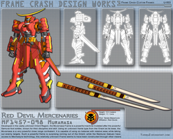 Red Devils Muramasa Frame by TurinuZ