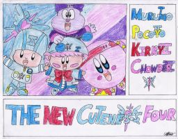 THE NEW CUTENESS FOUR-Frame by murumokirby360