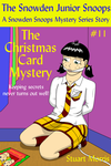 Junior Snoops Christmas Card Mystery Book Cover by MisterMistoffelees