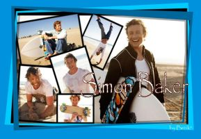 Simon Baker wallpaper by Lisa-with-sax