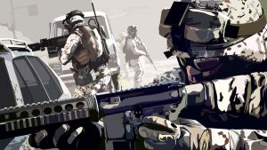 battlefield 3 US infantry by Dap1987