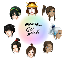 Avatar girl by AireensColor