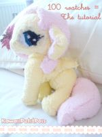 Fluttershy Plushie (want the tutorial?) by KawaiiPetitPois