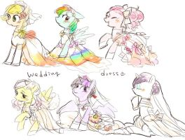 Wedding dress by chi-hayu