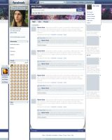 Facebook concept by VisualFour