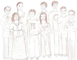 Weasley Family by MissPopcorn95