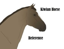 The Kiwian Mustang Breed Reference by S1oane