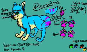 New Blizzard Ref by SpyWestie
