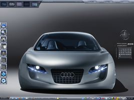 My Current Desktop by wrenchy