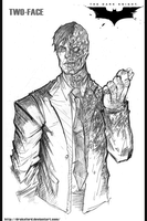TWO-FACE_THE DARK KNIGHT by DRAKEFORD