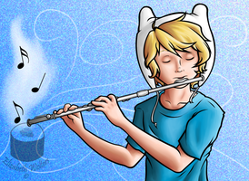.:The Flutist:. by Sushibeth