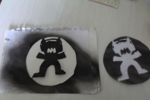 Monstercat Stencil by 312ghosthound