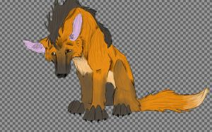 Maned Wolf by MWmagic