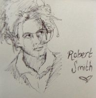 Robert Smith doodleage by bec1989