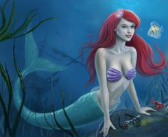 The Little Mermaid by dashinvaine
