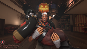 Batty and Toby Scared Shitless *TF2 SFM* by Tsuzumikin