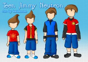 Entry -Teen Jimmy Neutron by latinvortex