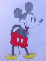 Classic Mickey Mouse by nintendolover2010