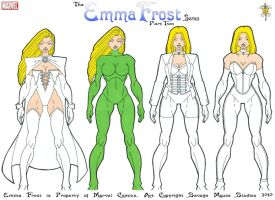 Emma Frost Series: Part Two by SavageMouse