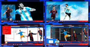 Thema windows7 Lionel Messi by bir2d