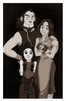 Does Bumi get a family? by Quabajazzi