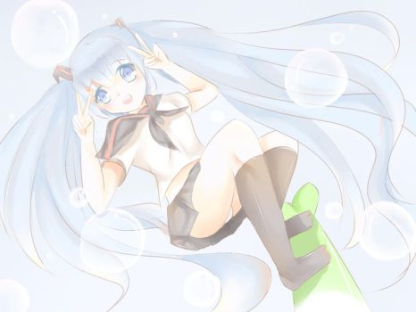 water miku by Erokty