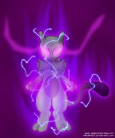 Mewtwo by WarBandit