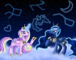 Luna and Cadenza - Constellations by Rose-Beuty