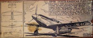 NA-73/XP-51 Pursuit Fighter by WarBrony