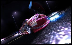 Toyota Soarer Night Drift by Battle-Cry-TR