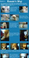 +How I Made Tamaki's Wig+ by xHollehx