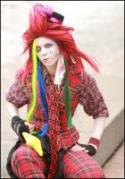 Axel mad hatter version 2 by Flashii-Chili-Pepper