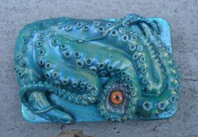 Octo buckle green by missmonster