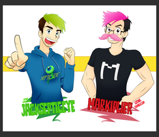 Jacksepticeye and Markiplier Thing! by xOtakuStarx