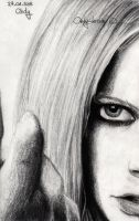 Avril Lavigne 4 by cindy-drawings