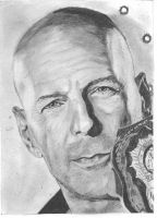Bruce Willis by bclara88