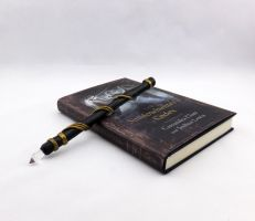 Black and Gold Stele by Dynamicalley