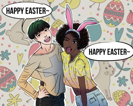 Happy Easter 2017 by Maddieisabadword