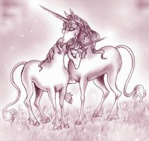 The Last Unicorn: Soulmates by pegacorn