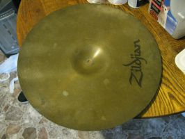 cleaning my Ride Cymbal with the -STUFF- 3 by ownerfate