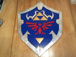 Ocarina of Time Shield by FangirlOfArtsyness