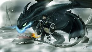 King Hiccup by Schelp