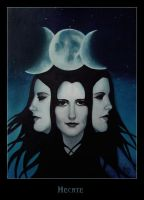 Hecate_painting by szilvia