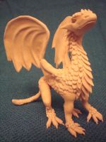 WIP Polyclay Dragon by CharpelDesign