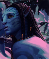 Neytiri - Avatar 2 by KasumiTan