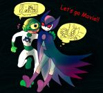 Kyd Wykkyd and See-More by BACBAC-MIKI